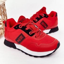 Sapatos esportivos infantis de espuma de memória Big Star HH374173 vermelho 5