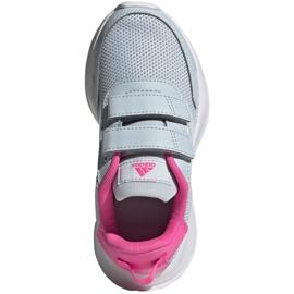 Sapatos Adidas Tensaur Run C Jr FY9197 vermelho 1