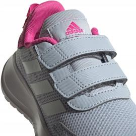 Sapatos Adidas Tensaur Run C Jr FY9197 vermelho 4