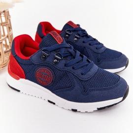 Sapatos esportivos infantis de espuma de memória Big Star HH374175 azul marinho multicolorido 2