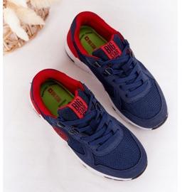 Sapatos esportivos infantis de espuma de memória Big Star HH374175 azul marinho multicolorido 1