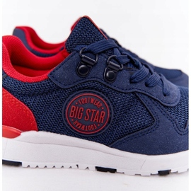 Sapatos esportivos infantis de espuma de memória Big Star HH374175 azul marinho multicolorido 5