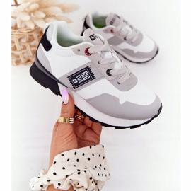 Sapatos esportivos infantis de espuma de memória Big Star HH374168 branco 3