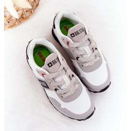 Sapatos esportivos infantis de espuma de memória Big Star HH374168 branco 1