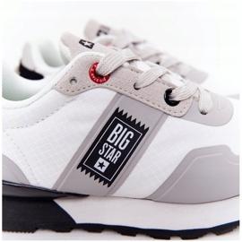 Sapatos esportivos infantis de espuma de memória Big Star HH374168 branco 5