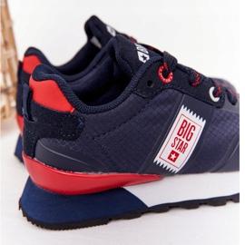 Sapatos esportivos infantis de espuma de memória Big Star HH374171 azul marinho 1