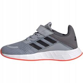 Sapatos Adidas Duramo Sl C Jr FY9170 cinza 2