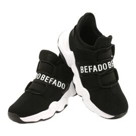Calçados infantis Befado 516X066 branco preto 4