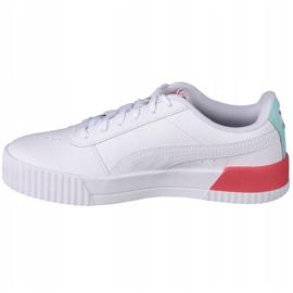 Puma Carina L Jr 370677 23 sapatos branco preto 1