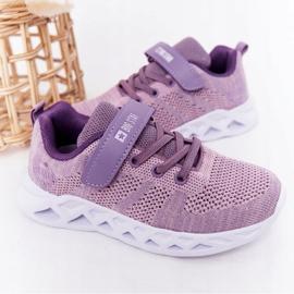 Sapatilhas de desporto infantil Big Star HH374183 violeta tolet 2