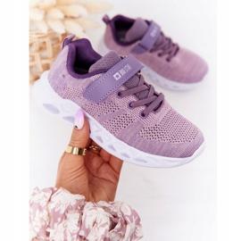 Sapatilhas de desporto infantil Big Star HH374183 violeta tolet 3
