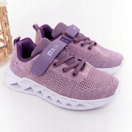 Sapatilhas de desporto infantil Big Star HH374183 violeta tolet 1