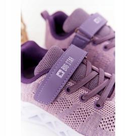 Sapatilhas de desporto infantil Big Star HH374183 violeta tolet 4
