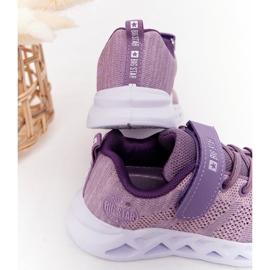 Sapatilhas de desporto infantil Big Star HH374183 violeta tolet 5