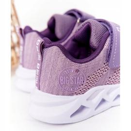 Sapatilhas de desporto infantil Big Star HH374183 violeta tolet 6