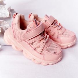 Tênis Infantil Com Solado Iluminado Led Pink So Cool! rosa 1
