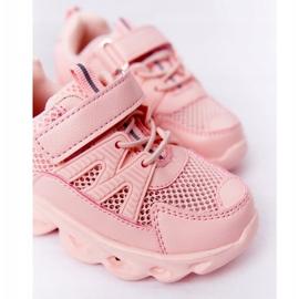 Tênis Infantil Com Solado Iluminado Led Pink So Cool! rosa 3