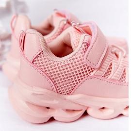 Tênis Infantil Com Solado Iluminado Led Pink So Cool! rosa 4