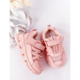 Tênis Infantil Com Solado Iluminado Led Pink So Cool! rosa 5