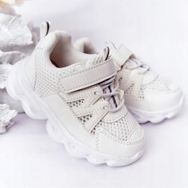 Tênis Infantil Com Solado Iluminado Led White So Cool! branco 2
