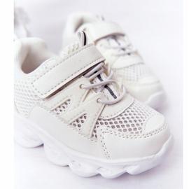Tênis Infantil Com Solado Iluminado Led White So Cool! branco 5