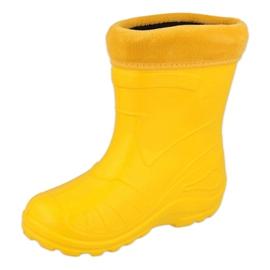 Calçado infantil Befado galocha- amarelo 162P107 2