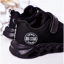 Calçados infantis esportivos tênis Big Star HH374184 preto 6