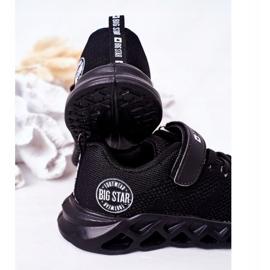 Calçados infantis esportivos tênis Big Star HH374184 preto 1