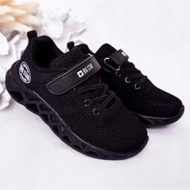 Calçados infantis esportivos tênis Big Star HH374184 preto 2