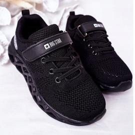 Calçados infantis esportivos tênis Big Star HH374184 preto 4