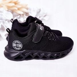 Calçados infantis esportivos tênis Big Star HH374184 preto 5