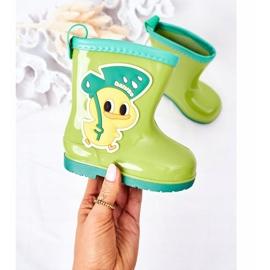 Galochas de pato verde infantil 2