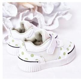 Apawwa Calçados Esportivos Infantis Com Panda Branco e Verde Chico 8
