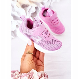Apawwa Calçados infantis esportivos rosa escuro Little Sportsman 2
