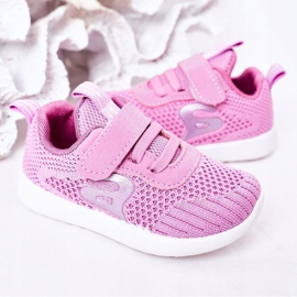 Apawwa Calçados infantis esportivos rosa escuro Little Sportsman 6