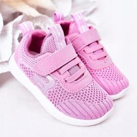 Apawwa Calçados infantis esportivos rosa escuro Little Sportsman 1