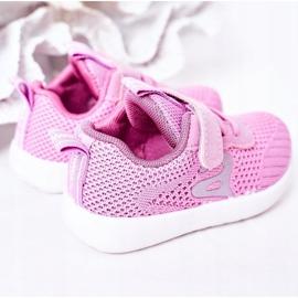 Apawwa Calçados infantis esportivos rosa escuro Little Sportsman 3