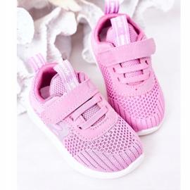 Apawwa Calçados infantis esportivos rosa escuro Little Sportsman 5