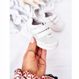 Apawwa Calçado desportivo infantil White Billie branco 2