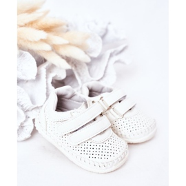 Apawwa Calçado desportivo infantil White Billie branco 1