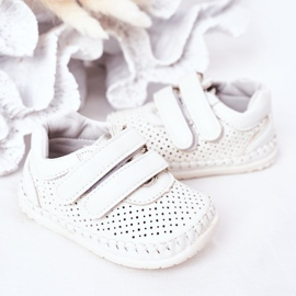 Apawwa Calçado desportivo infantil White Billie branco 3