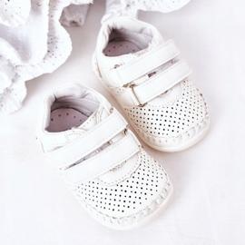 Apawwa Calçado desportivo infantil White Billie branco 4