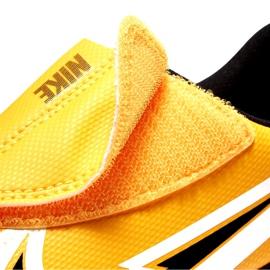 Chuteiras Nike Mercurial Vapor 13 Club Ic PS (V) Junior AT8170 801 branco preto laranja 4