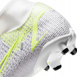 Nike Mercurial Superfly 8 Academy FG / MG M CV0843 107 chuteiras branco 4
