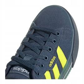 Sapatos Adidas Daily Jr FY7199 preto azul marinho 2
