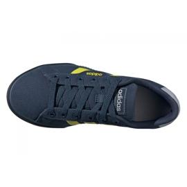 Sapatos Adidas Daily Jr FY7199 preto azul marinho 3