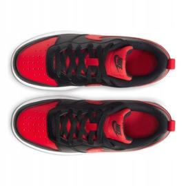 Sapatos Nike Court Borough Low 2 Jr BQ5448-007 preto 2