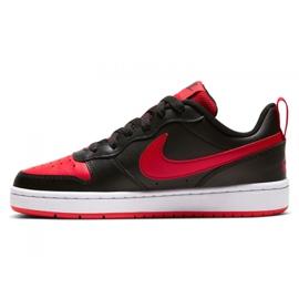 Sapatos Nike Court Borough Low 2 Jr BQ5448-007 preto 4