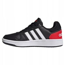 Sapatos Adidas Hoops 2.0 Jr FY7015 preto 1