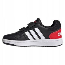 Tênis Adidas Hoops 2.0 C Jr FY9442 preto 1